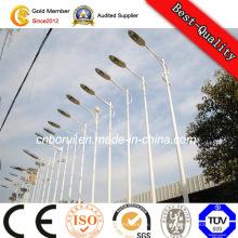 30W 40W 60W LED Straßenlaterne Pole / 8m Solarstraßenlaterne