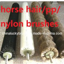 Diferentes materiales rodillo cepillo para alimentos y verduras pulido (YY-346)