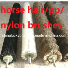 Diferentes materiais escova de rolo para alimentos e polimento de vegetais (YY-346)