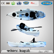 New Model Single Sit on Top Plastic Fishing Kayak