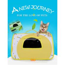 Bolsa de viagem dobrável de luxo para cães de estimação