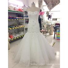 Бренд Aoliweiya Новый Реальный Образец Свадебное Платье Русалка