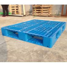 Pálete plástica resistente de quatro vias do armazém