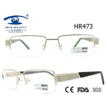 Newest Style Man Popular Half Metal Glasses Frame (HR473)