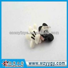Fancy promotional pvc cute dust plug for iphone