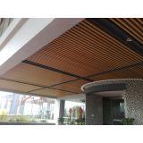 Interior False Wood Plastic Composite Wpc Ceiling For Indoor Decoration