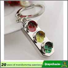 Cheap Wholesale Metal Traffic Light Keychain