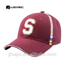 Gorra y sombrero de béisbol de ala de algodón para hombre