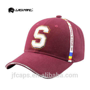 Man cotton brim baseball cap and hat