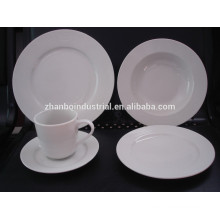 Hotel porcelain,luxury porcelain dinner set,fine porcelain dinner set