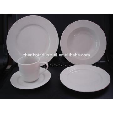 Hotel porcelain,luxury porcelain dinner set,fine porcelain dinner set