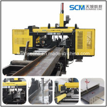 3D Three Spindles H Beam Drilling Machine