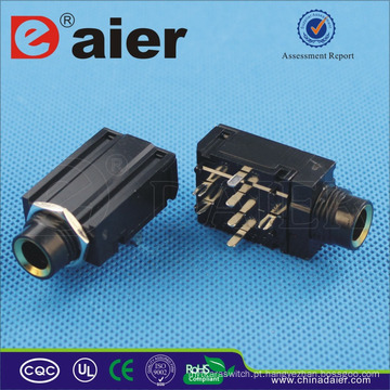 Daier Alta Qualidade 7 Pin Stereo Headphone Jack Converter