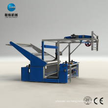 Máquina de bobinado de laminación de inspección de proceso de teñido textil