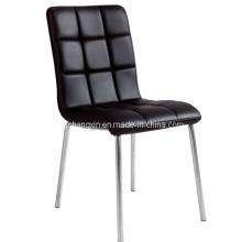 Alta qualidade novo luxo PU couro confortável cadeira de jantar