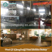 laminated parquet floor production line /parquet flooring production machinery /