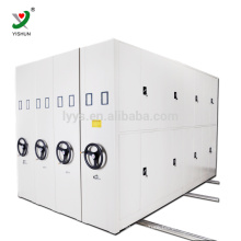Steel commercial furniture file storage Movable mechanical file compactor