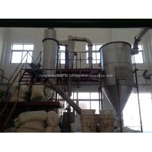 Secador instantâneo de rotação de ácido bórico