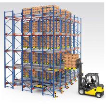 The Food Industry Custom Q235B Pallet Runner Rack Radio Shuttle Racking OEM