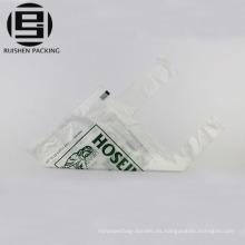 Bolsas plásticas biodegradables de la camiseta con la impresión