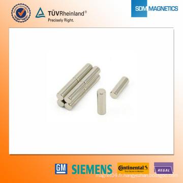 Aimant en néodyme D4 * 12.5mm N42