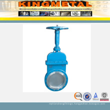 Ss API6d Knife Gate Valve with Electric Actuator
