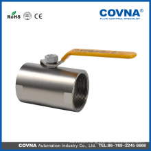 Female thread 1PC cf8m ball water hand valve