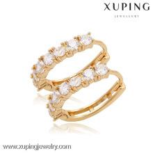 90058 Xuping Fashion haute qualité en plaqué or 18 carats boucle d'oreille