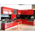 Glossy Customized Holz Acryl Küchenschränke für Hotel Möbel (Acryl für Schranktüren)