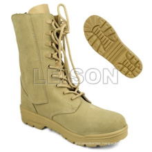 Military Desert Tactical Boots with ISO Standard