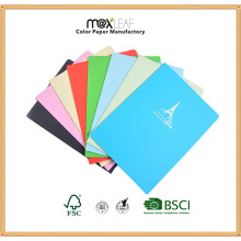 Colored Paper Notebook for Stationery Supply