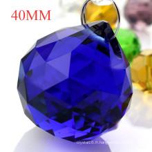 Boules de cristal à facettes Pendentif en verre Boules Pendentif Cristal Pendentif Rideau