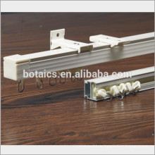 Fix an Decke oder Wand gleiten Aluminium Zubehör für Vorhang Gleis