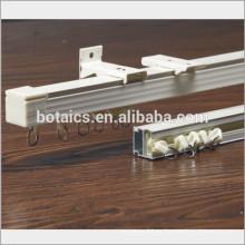Fijar en el techo o la pared de aluminio deslizante accesorios para cortina de pista