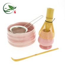 Juego de regalo de té Matcha - Juego de ceremonia de té Matcha