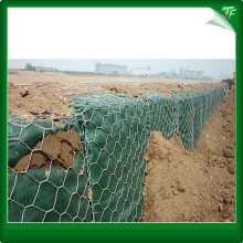 Hexagonal galavinzed gabion baskets