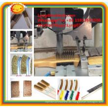 Máquina automática del cepillo de alambre de acero del CNC de alta velocidad de 2 ejes