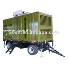 Mobile type soundproof diesel Genset with power 20kw-1000kw