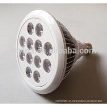 2700k-6500k CE e Rohs alto brilho driver hight dimmable 13w impermeável PAR38 led luz par