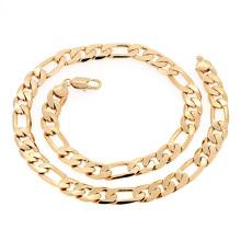 Xuping Moda Hotsales Colar de Corrente de Liga de Jóias de Ouro para Homens --40618