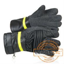 Luvas de fogo com flama-retardador e impermeável norma ISO