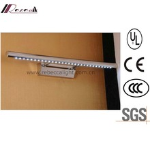 Indoor Hotel Room Stainless Steel LED Mirror Lamp