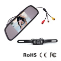 Car Rearview Mirror Monitor System with Mini IR Camera