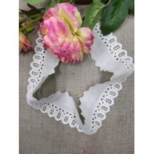 Тонкая кружевная отделка для платья и свадьбы