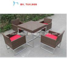 Table et chaise de salle à manger de patio de meubles de jardin 2016 (CF965)