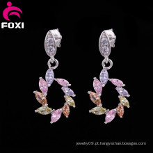 Produto novo no mercado chinês Coppering African Jewelry Earring