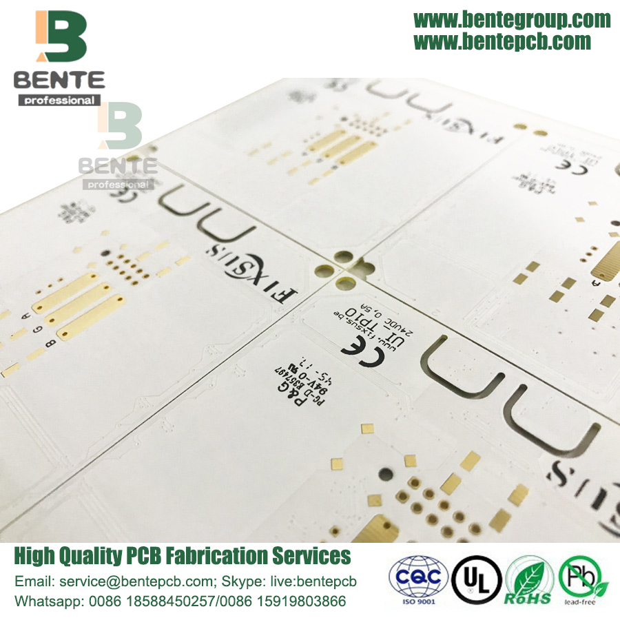 White Ink PCB Prototype