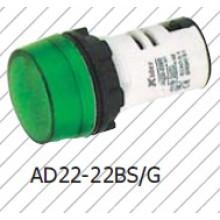 Lámpara indicadora verde, lámpara de señal, rojo amarillo azul blanco 12V