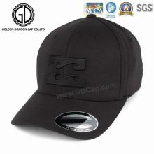 Hochwertige Sport-Golf-Fleece-Baseballmütze mit 3D-Stickerei