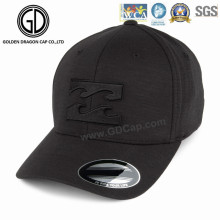 Gorra de béisbol de vellón de golf de deportes de alta calidad con bordado 3D